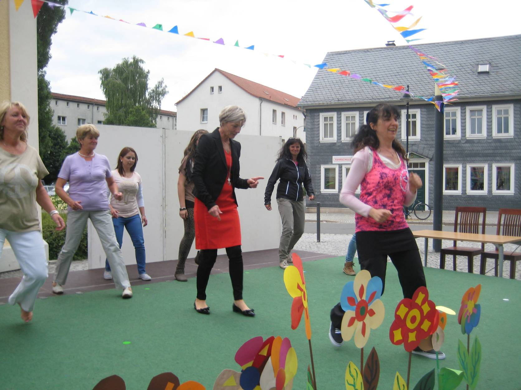 ZUMBA- Workshop -alle machen mit